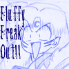 Fluffy freak out avatar